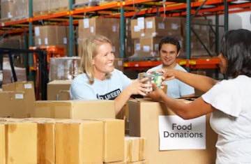 food donation min