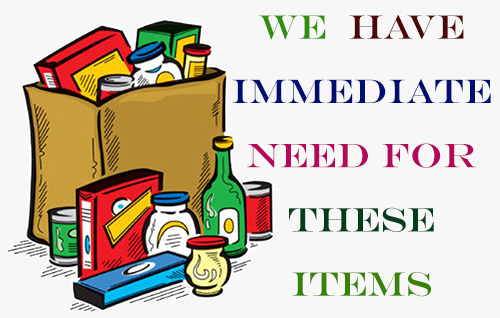 items we need 1